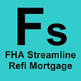 Mortgage-Symbol-FHA-Streamline-Refinance